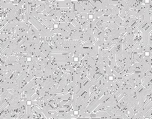 computer circuit board seamless black and white circuit With buy circuit board