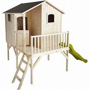 Maisonnette En Bois Sur Pilotis : maisonnette bois tiphaine soulet m leroy merlin ~ Dailycaller-alerts.com Idées de Décoration