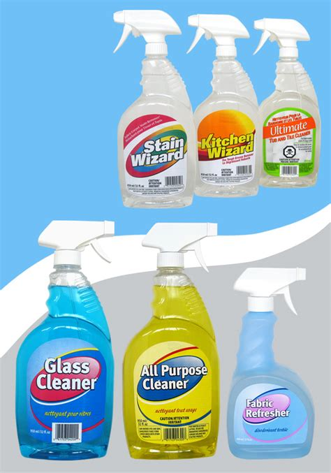 Three Generic Cleaners Same As by Packaging By Uma Sharda At Coroflot