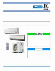 York Mini-split Heat Pump User U0026 39 S Manual
