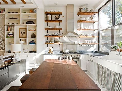 kitchen open storage stylish ways to design open shelves 2351