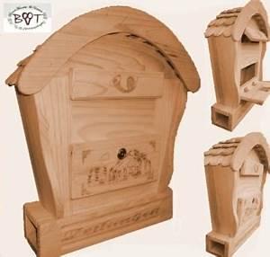 Briefkasten Aus Holz : hbk rd natur briefkasten holzbriefkasten mit holz deko aus holz no 1 holz natur hell ideal ~ Udekor.club Haus und Dekorationen