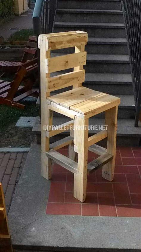 chaise palette chaise faite avec des palettesmeuble en palette meuble