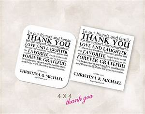 best 25 thank u cards ideas on pinterest thank you With 4x4 wedding invitations
