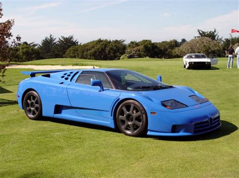 How fast they get there is another story. The Veyron of the '90s: the Bugatti EB110 - 6SpeedOnline