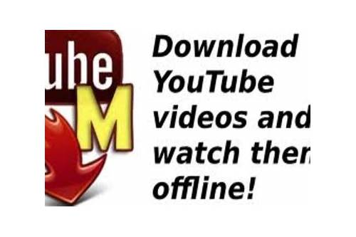 free download tubemate youtube video downloader for pc
