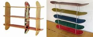 Longboard Selber Bauen : skateboard regal selber bauen aus recycelten skateboards kleider g nstig online bestellen ~ Frokenaadalensverden.com Haus und Dekorationen