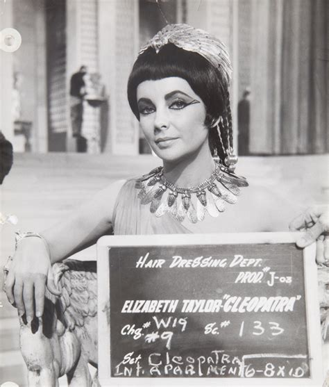 elizabeth taylor cleopatra hair dressing department