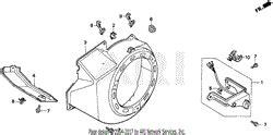 honda eb5000x a generator jpn vin ea7 3000001 parts diagram for stator