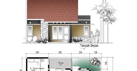 rumah minimalis  lantai  kamar tidur  garasi desain
