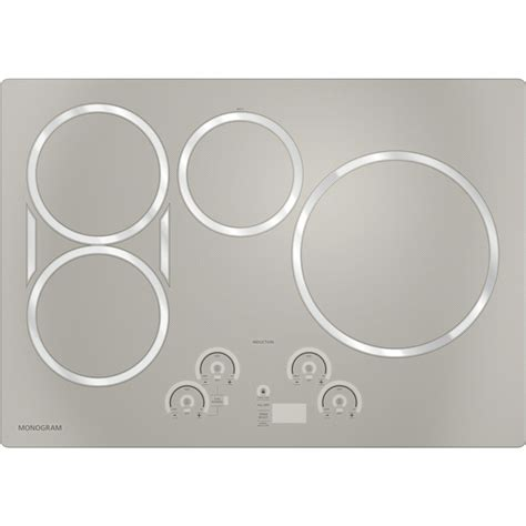 ge induction cooktop 30 zhu30rsjss ge monogram 30 quot induction cooktop