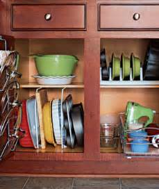 kitchen cabinet organizer ideas 10 creative ideas to organize baking dishes storage on your kitchen shelterness