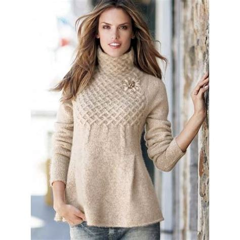 multinotas chompas de cuello alto alto al frio de sweater fashion crochet