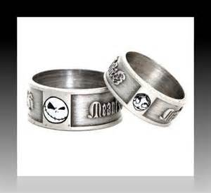 nightmare before wedding rings nightmare before sally engagement ring set w bead chains box ebay