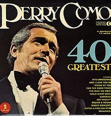 perry como number one hits 40 greatest hits perry como album wikipedia
