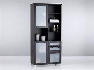 Armoire Salle De Bain Bois : 40 armoires de salle de bains elle d coration ~ Melissatoandfro.com Idées de Décoration