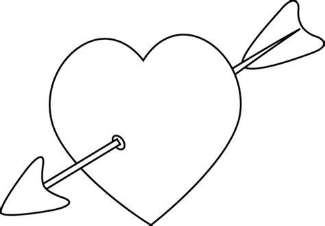 plan cuisine en ligne cœur transpercé par une flèche dory fr coloriages