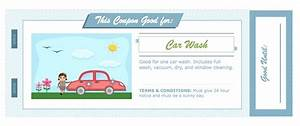 Car wash voucher template pictures to pin on pinterest for Car wash coupon template