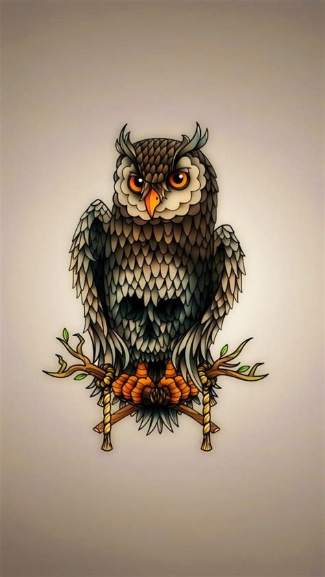 Owl Phone Wallpaper by Owl Iphone Birds Wallpapers Mobile9 Iphone 6