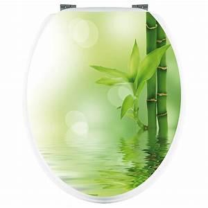 Abattant Wc Pas Cher : stickers wc bambou pas cher ~ Dailycaller-alerts.com Idées de Décoration