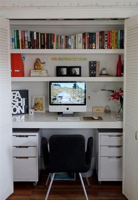 coin bureau petit espace s 39 aménager un coin bureau à la maison placard bureau et