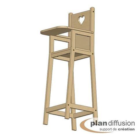 plan de chaise longue en bois comment fabriquer une chaise haute pour poupéée