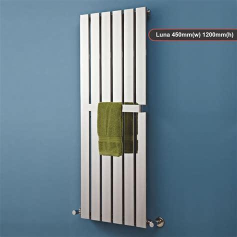 mixed designer chrome vertical horizontal radiators
