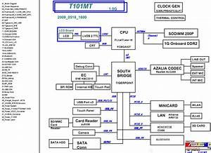 Asus Eee Pc T101mt Schematic  U2013 Laptop Schematic