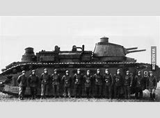 This is FCM 2C the biggest tank in the world ever built 9GAG
