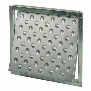 Trappe Visite Placo : trappe de visite galvanis e mejix 300 x 300 mm d coupe ~ Premium-room.com Idées de Décoration