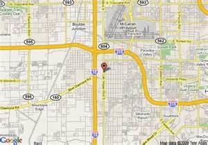 South Las Vegas Strip Map