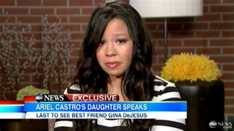 ariel castros daughter apologizes  kidnap victim ny daily news