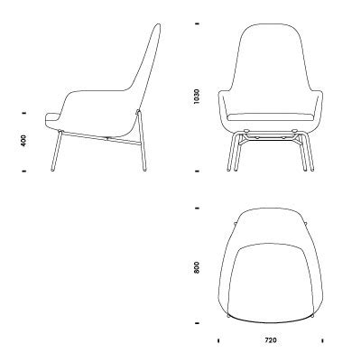 chaise dwg 2d 3d cad files