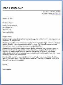 police officer cover letter sample resume downloads With cover letter for police department