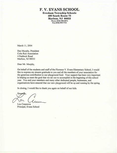Formal Letter For School  Formal Letter Template