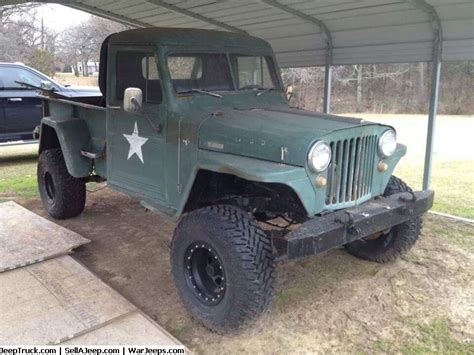 willys jeep pickup for sale 1951 willys 4x4 pickup 1