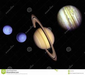Planets In Outer Space. Stock Photo - Image: 2037630