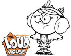 lincoln loud dessin anime coloriage dessin anime