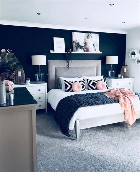 Navy And Pink Bedroom by Pin By Rachael On Home Ideas In 2019 Decoraci 243 N