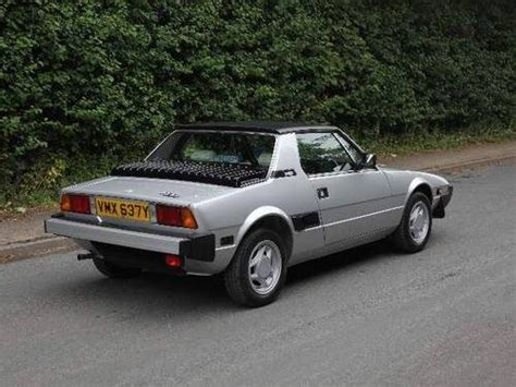 Fiat Bertone X1 9 Sale by For Sale Fiat X1 9 Bertone 5 Speed 15326 From New
