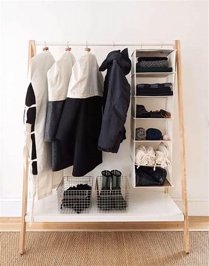 Storage Organized Coat Garment Clothes Rack Clothing