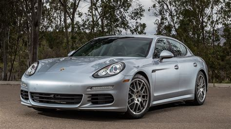 porsche car panamera front quarter view