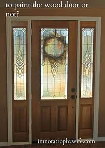 Hometalk Front Door Makeover: From Stain to Paint