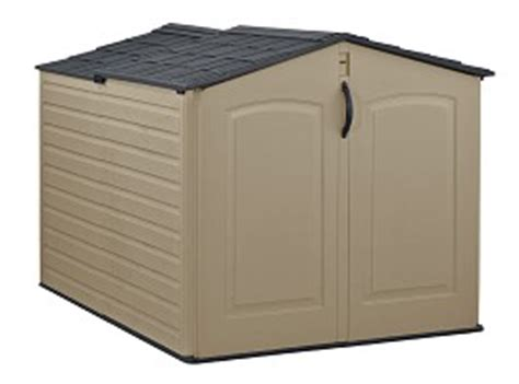 Rubbermaid Roughneck Modular Slide Lid Storage Shed by Roughneck 174 Slide Lid Shed
