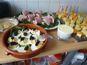 Party Buffet Ideen : nostalgisches kaltes buffet jahre russische eier rezept ~ Markanthonyermac.com Haus und Dekorationen