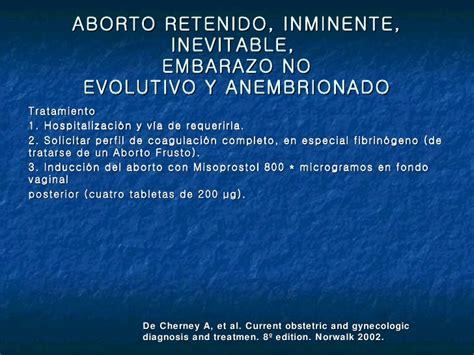 Misoprostol Tabletas Aborto