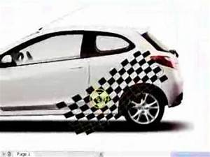 35smear tool in coreldraw car sticker design youtube With car sticker design sample