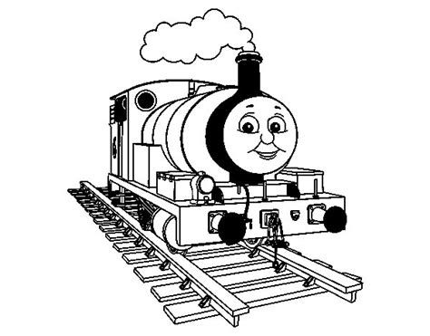 Kleurplaat Percy De Trein by Percy The Green Engine Coloring Page Coloringcrew