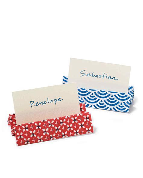 Martha Stewart Kitchen Design Ideas - origami place card holders martha stewart