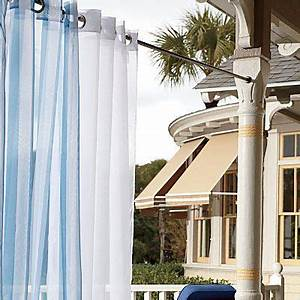 102 best images about out side on pinterest gravy boats for Outdoor balcony curtains